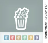 trashing payment | Shutterstock .eps vector #192224147