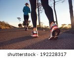 fitness exercising couple... | Shutterstock . vector #192228317
