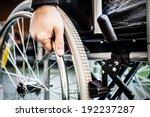 Paralyzed Man Using His...
