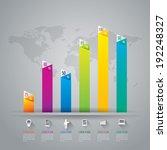 infographics vector design... | Shutterstock .eps vector #192248327