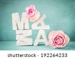 mama  | Shutterstock . vector #192264233