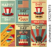 independence day american ... | Shutterstock .eps vector #192278573