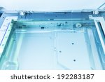 copier with a bright light... | Shutterstock . vector #192283187