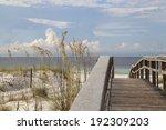 Boardwalk To White Sand Florid...