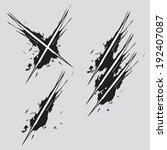 scratch vector | Shutterstock .eps vector #192407087