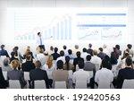 business presentation | Shutterstock . vector #192420563