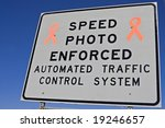 Speed Photo Enforced   Sign On...