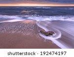 Sea Beach On Sunset Time