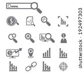 business icons | Shutterstock .eps vector #192497303