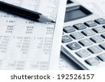 financial accounting  | Shutterstock . vector #192526157