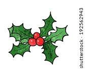 cartoon holly | Shutterstock . vector #192562943