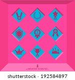 abstract creative concept... | Shutterstock .eps vector #192584897