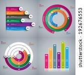 set of infographics vector... | Shutterstock .eps vector #192676553