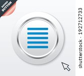 list sign icon. content view...