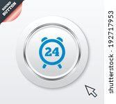 24 hours time sign icon. clock...