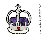cartoon crown | Shutterstock . vector #192731363