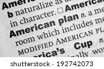 Small photo of Dictionary definition of the term American Plan