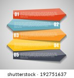 infographic templates for... | Shutterstock .eps vector #192751637