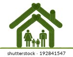 family home icon.  create from... | Shutterstock . vector #192841547