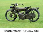 First World War Motorbike