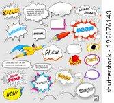 Illustration Of Colorful Comic...