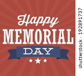 Happy Memorial Day   Stars And...