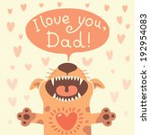 Card Happy Father's Day With A...