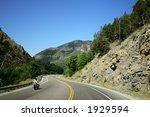 mountain road in colorado... | Shutterstock . vector #1929594
