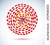 vector watercolor background... | Shutterstock .eps vector #192968303
