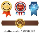 the illustration of medals and... | Shutterstock . vector #193089173