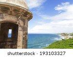 historic spanish sentry box... | Shutterstock . vector #193103327