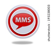 mms circular icon on white... | Shutterstock . vector #193238003