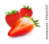 photo of strawberry with slice... | Shutterstock . vector #193241927