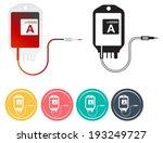 blood bag   illustration   Shutterstock . vector #193249727