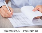 closeup of businessman... | Shutterstock . vector #193320413