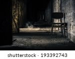 abandoned interior with chair | Shutterstock . vector #193392743