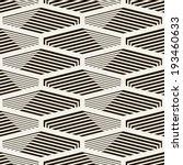 vector seamless pattern. modern ... | Shutterstock .eps vector #193460633