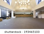 spacious hotel lobby with... | Shutterstock . vector #193465103