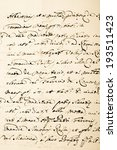 old manuscript on old dirty... | Shutterstock . vector #193511423
