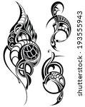 tattoo | Shutterstock .eps vector #193555943