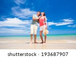 portrait of happy young couple... | Shutterstock . vector #193687907
