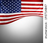 closeup of american flag on... | Shutterstock . vector #193714847