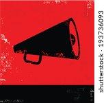 megaphone symbol vector   Shutterstock .eps vector #193736093