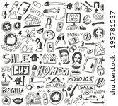 choosing home   home sale  ... | Shutterstock .eps vector #193781537