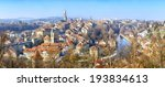 panoramic view on the old town... | Shutterstock . vector #193834613