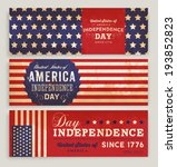 American Flag Banners Set With...