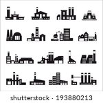 industry icons over white... | Shutterstock .eps vector #193880213