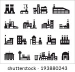industry icons over white... | Shutterstock .eps vector #193880243