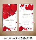lovely wedding invitation. a... | Shutterstock .eps vector #193962137