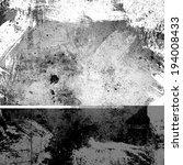 grunge grey background | Shutterstock . vector #194008433